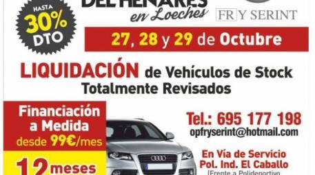 FERIA DEL AUTOMÓVIL DEL HENARES EN LOECHES